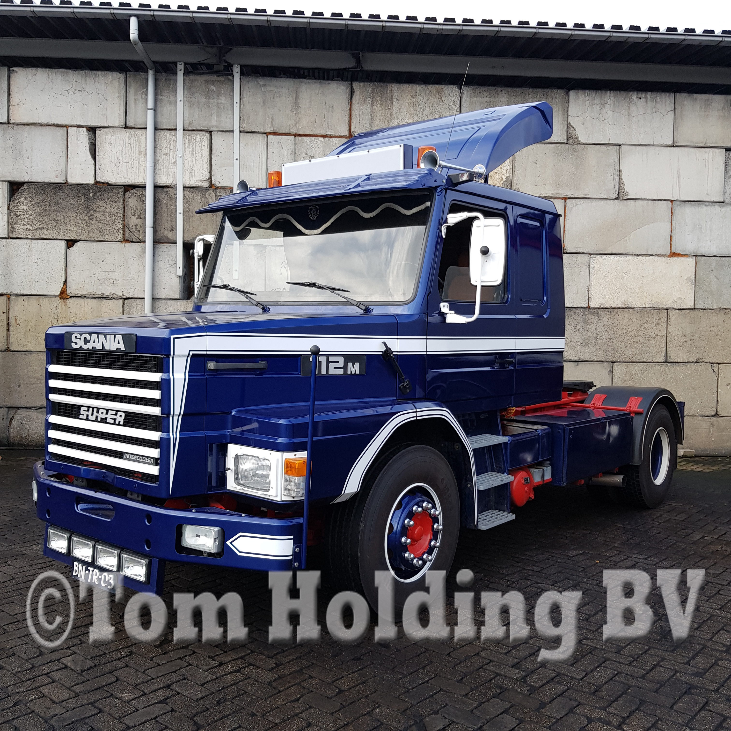 Scania T 112 intercooler 4×2 Marge | Tom Holding BV